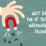 Øget behov for at tiltrække internationale talenter
