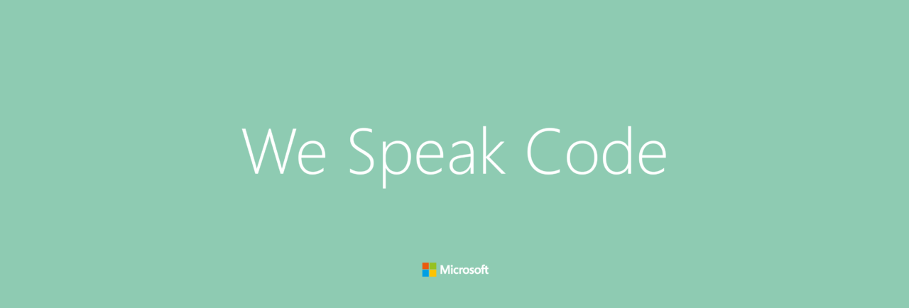 coreworkers_Microsoft_We Speak Code